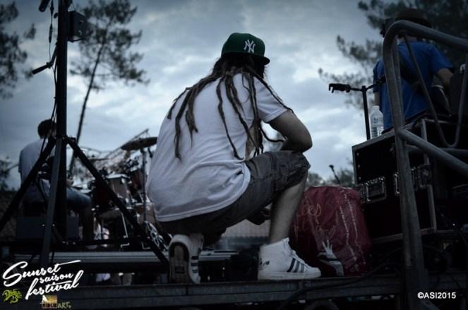 Photo Sunset saison festival 2015 I-Sens the diplomatik's reggae band la teste de buch photographe adrien sanchez infante bassin d'arcachon (7)