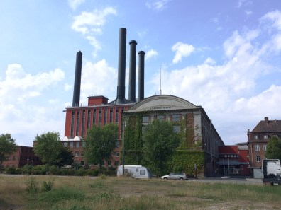 the power station from the other side