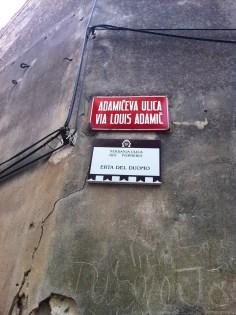Piran street name