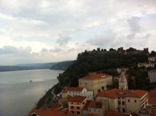 Istrian coastline