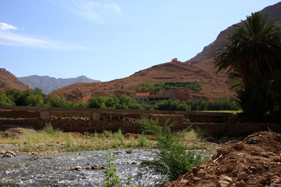 Toudgha el Oulia, la riviere