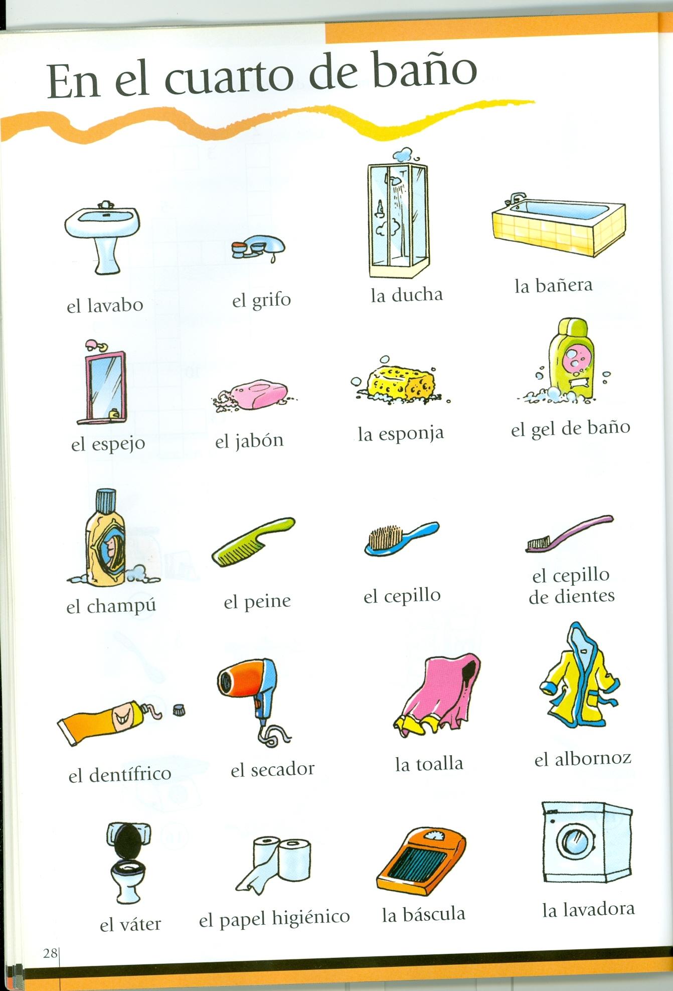 Vocabulario Adriteachspanisha 1 1