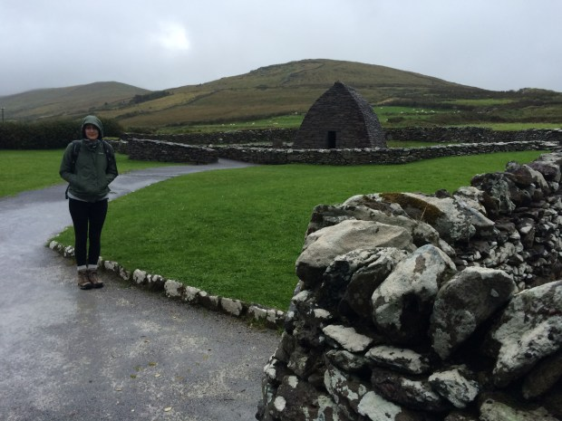 The entrance to Gallarus Oratory.