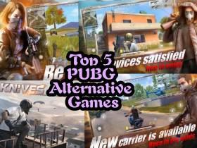 Top 5 PUBG Alternative Games