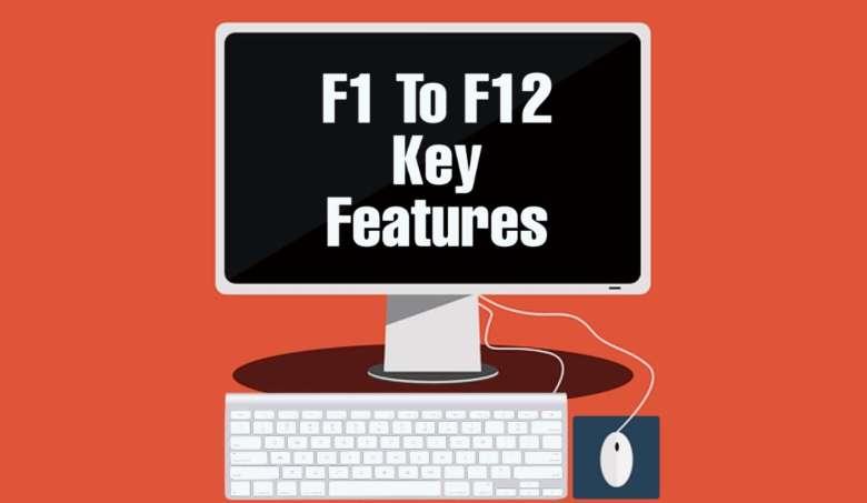 कंप्यूटरKeyboard में F1 से लेकर F12 Keys का क्या काम होता हैं?