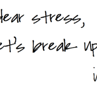 Stress and Anxiety - What to do?