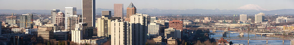 Panoramic Portland - Click for a massive full size image