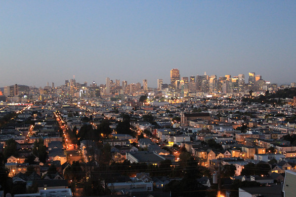 San Francisco from Bernal Heights