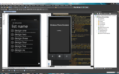 Windows Phone 7 Application Starting