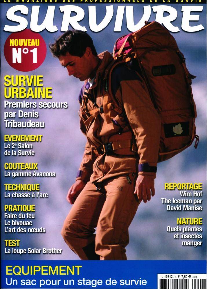 survivre magazine, survie, pédagogie, adrv, psychologie comportementale, rupture de la normalité, combat de survie, démarrer un feu