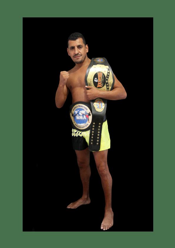 Badre BELHAJA, champion du monde ,full contact, boxe thaï, coach sportif