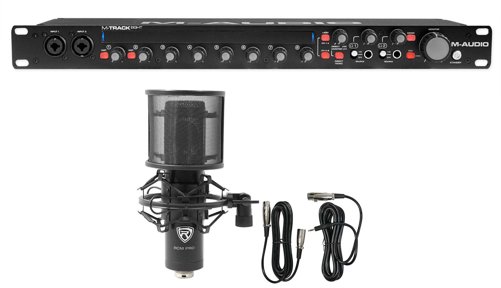 M Audio M Track Eight 8 Usb Audio Recording Interface