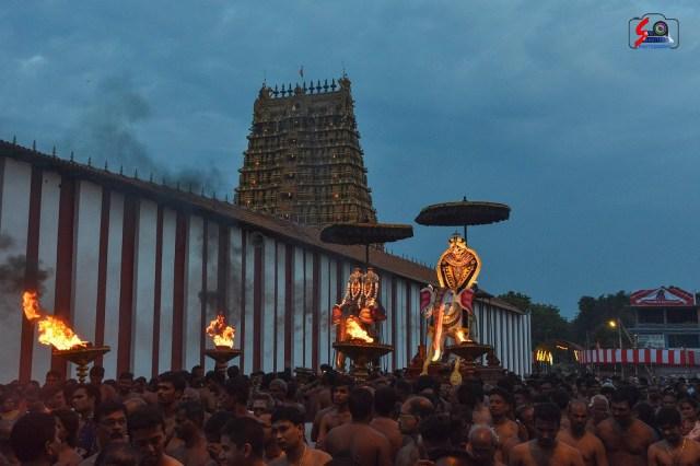 நல்லூர் கந்தசுவாமி ஆலய 9 ம் நாள் உற்சவம் 12