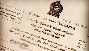 Get register of births deaths and marriages online srilanka