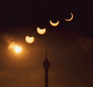Rare 'ring of fire' solar eclipse dazzles in pictures from around the world 2019 4