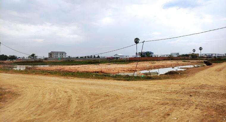 1257 Sq.m Land for Urgent Sale Near Borey Chhok Va II