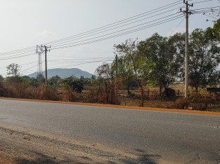 5.7 Hectares Land for sale – Along NR4, Kampong Speu