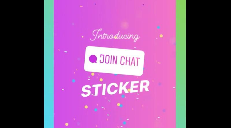 Instagram estrena un nuevo sticker de Chat para las Stories