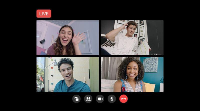 Facebook permite retransmitir en directo las videollamadas