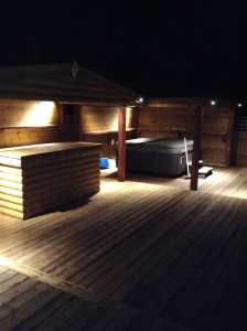 Outdoor Lighting Of Patio/Shelter
