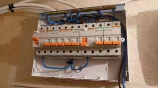 domestic electrician fuse box