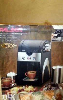 ماكينة عمل القهوة
