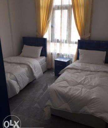 شقة صف اول بحر – 2 غرفة – 5 نجوم – بسيدى جابر