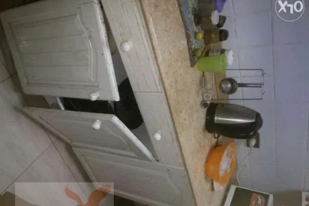 مطبخ ابيض