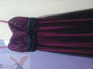 فستان سهرة لبسة واحدة