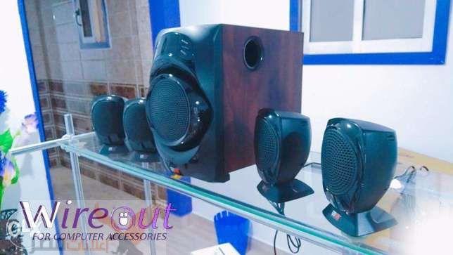 سماعات صب اربعة في واحد جبار 2B SP848 Multimedia Sound