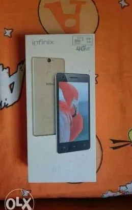Infinix hot s – New – not used – 16 Gigs – memory 2 GB ram – cam 13 px