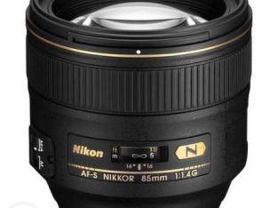 لينس 85mm 1.4 nikon
