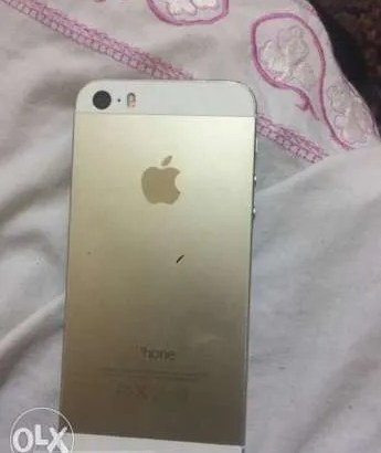 Iphone 5s gold 16gb للبيع