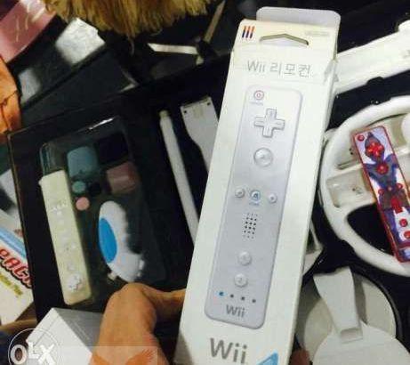 Wii full accessories للبيع