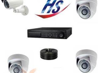 كاميرات مراقبة HI sharp تايوانى من السعد الكترونك