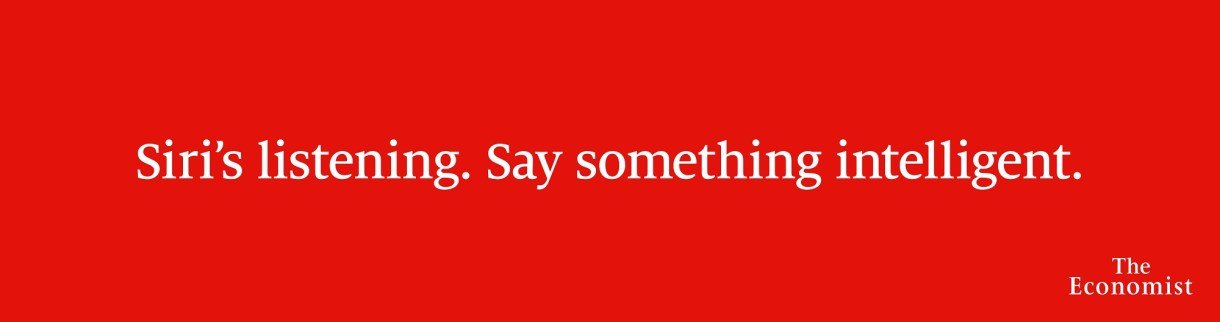 Ad of the Day | The Economist Launches New OOH Advertising ...