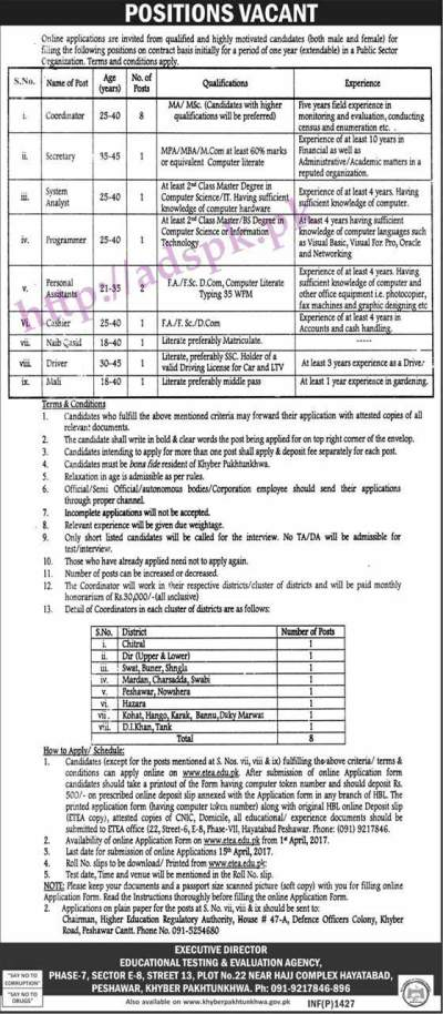 Jobs Educational Testing & Evaluation Agency Public Sector ...
