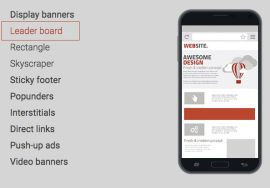 adsterra ad formats mobile