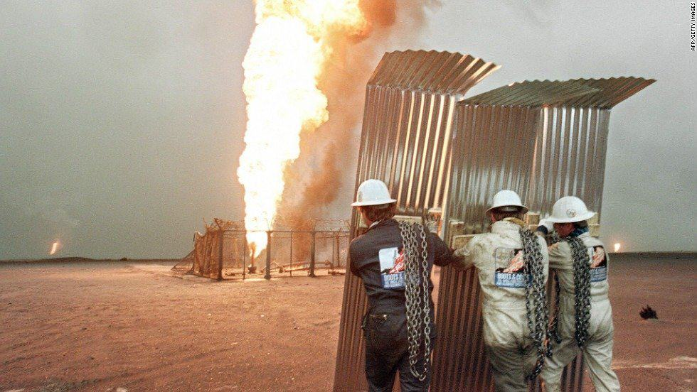 Towering Infernos The Kuwait Oil Fires Association For