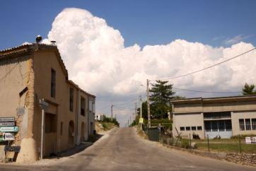 Cumulus à Valensol