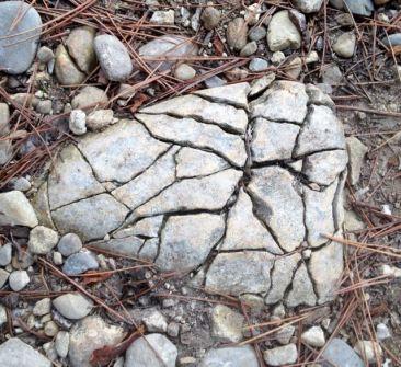Un coeur dans la pierre
