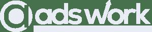 Adswork logo white
