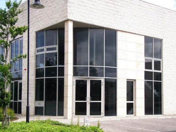 Faceted TB 50 Curtain Walling