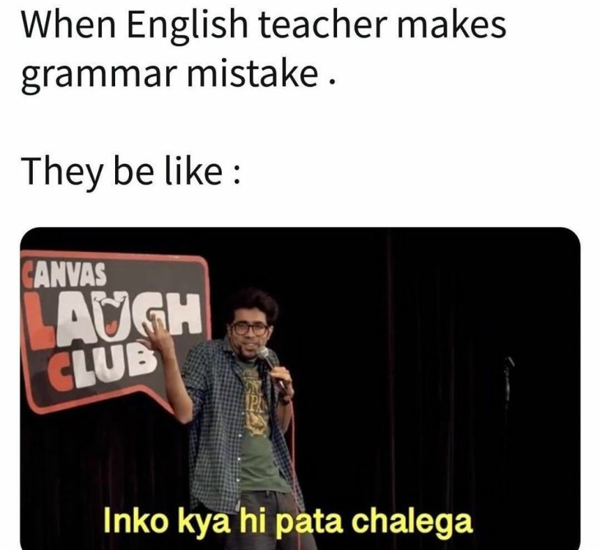 English Teachers Memes