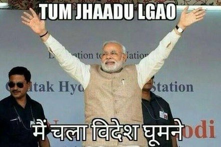 Memes on Modi