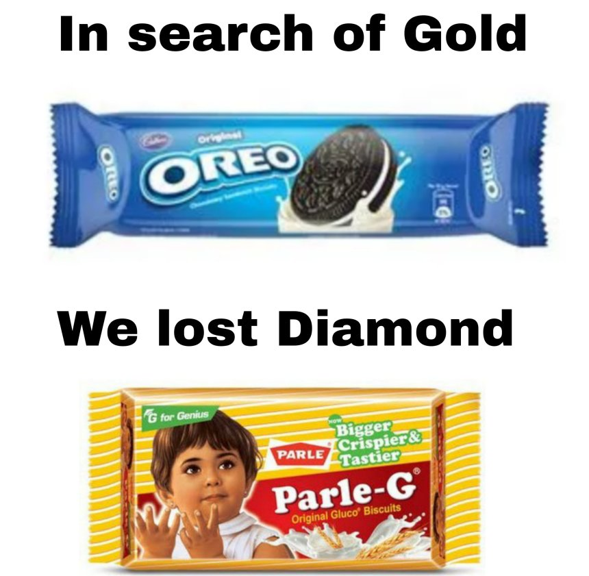 In search of Gold we lost Diamond memes