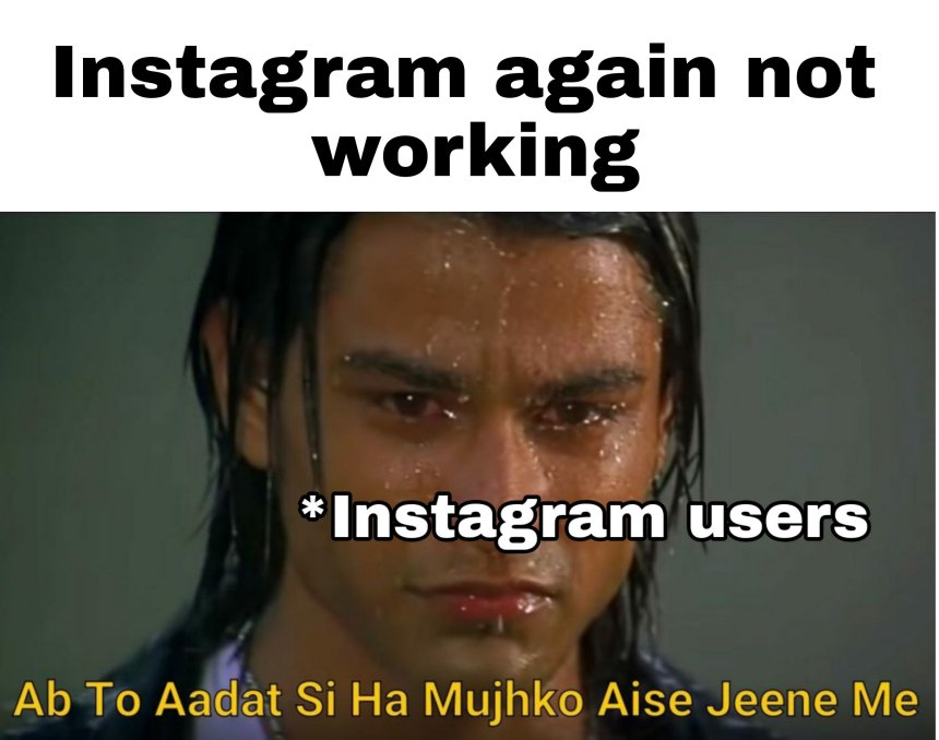 Is Instagram shut down Memes