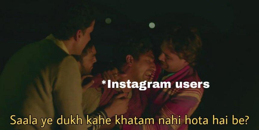 Instagram shut down again memes