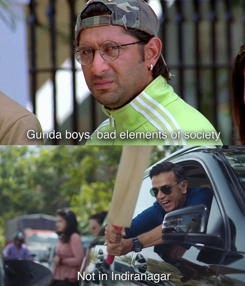 Indiranagar ka ad video memes