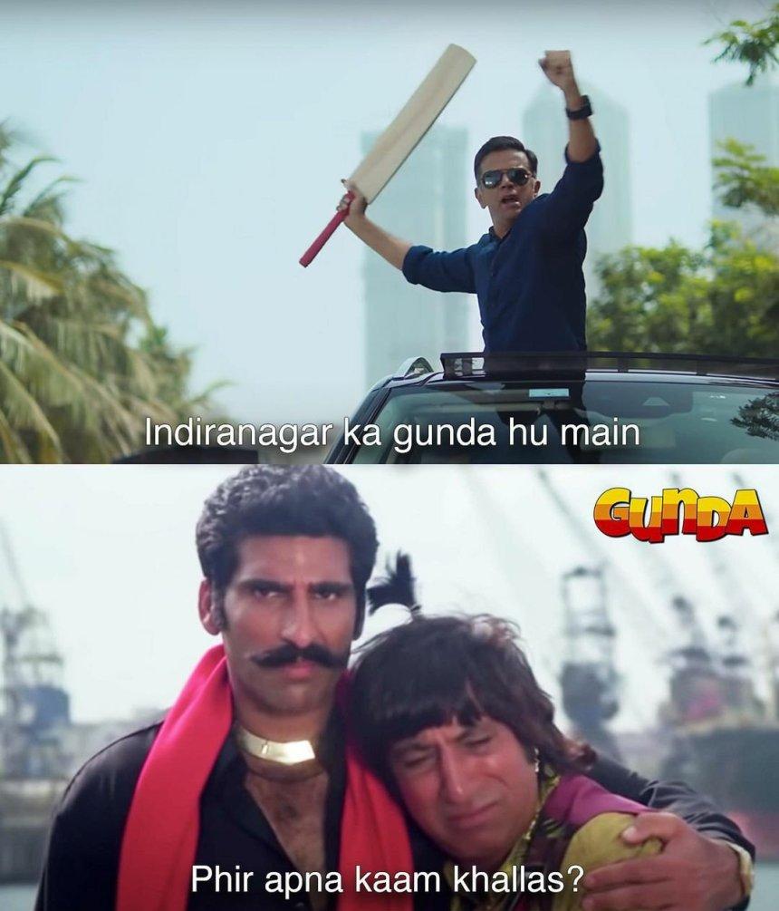 Indiranagar ka Gunda memes
